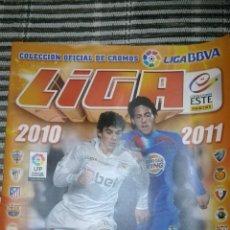 Coleccionismo deportivo: ALBUM LA LIGA 10/11 COLECCIONES ESTE INCOMPLETO. Lote 124659119