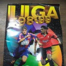Coleccionismo deportivo: ALBUM INCOMPLETO. LIGA 98- 99. CROMOS COMPLETOS Y 22 FICHAJES. COLECCIONES ESTE. 34 X 24,5 CM.. Lote 125040227