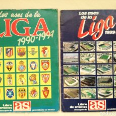 Coleccionismo deportivo: DOS ALBUNES ASES DE LA LIGA 89 Y 90.. Lote 125056166
