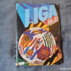 Coleccionismo deportivo: ALBUM 84/85 CON 270 CROMOS PEGADOS. LEER TEXTO. Lote 125157459