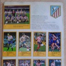 Coleccionismo deportivo: ASES DE LA LIGA 87-88 LE FALTA LA PORTADA Y CONTRAPORTADA. Lote 125198595