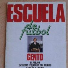 Coleccionismo deportivo: ÁLBUM ESCUELA DE FÚTBOL GENTO - LIGA 1991 - 1992 (AS). Lote 125199367