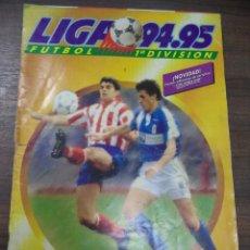 Coleccionismo deportivo: ALBUM INCOMPLETO. LIGA 94- 95. FALTAN 4 ULTIMOS FICHAJES. COLOCA Y DOBLE. COLECCIONES ESTE.. Lote 125287699
