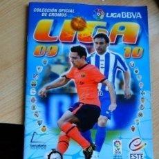 Coleccionismo deportivo: EDICIONES ESTE 2009-10 COMPLETO AL 80% . Lote 125338899
