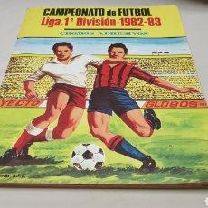 Coleccionismo deportivo: ALBUM DE CROMOS, CAMPEONATO DE FUTBOL ,LIGA 1° DIVISION-1982-83 , POR MATEO MIRETE ZARAGOZA. Lote 125437535