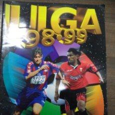 Coleccionismo deportivo: ALBUM INCOMPLETO. LIGA 98- 99. FALTAN 34 CROMOS Y 34 ULTIMOS FICHAJES. DOBLES Y COLOCA. C. ESTE.. Lote 125713247