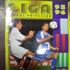 Coleccionismo deportivo: ALBUM INCOMPLETO. LIGA 95- 96. CROMOS COMPLETOS Y FALTAN 6 FICHAJES. COLECCIONES ESTE. 34 X 24,5.. Lote 125726379