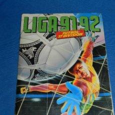Coleccionismo deportivo: ALBUM LIGA 91 / 92 , EDC ESTE - FALTAN 95 CROMOS , TODOS LOS FICHAJES , SEÑALES DE USO. Lote 125780107