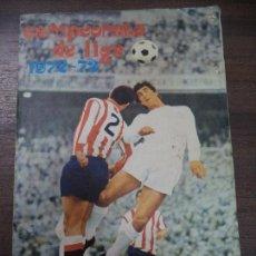Coleccionismo deportivo: ALBUN INCOMPLETO. LIGA 1972- 73. CROMOS PEGADOS POR ARRIBA. BUEN ESTADO. VER FOTOS. DISGRA.. Lote 125895755