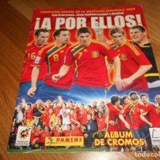 Coleccionismo deportivo: A POR ELLOS COLECCION OFICIAL DE LA SELECCION ESPAÑOLA 2009 PANINI NO COMPLETO. Lote 126061083