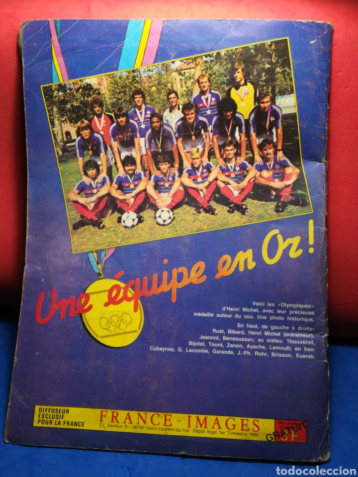 Sammelleidenschaft Sport: Álbum de cromos fútbol francés Temporada 1984-85 - 459 de 468 cromos - Panini, 1984 - Foto 2 - 126205619