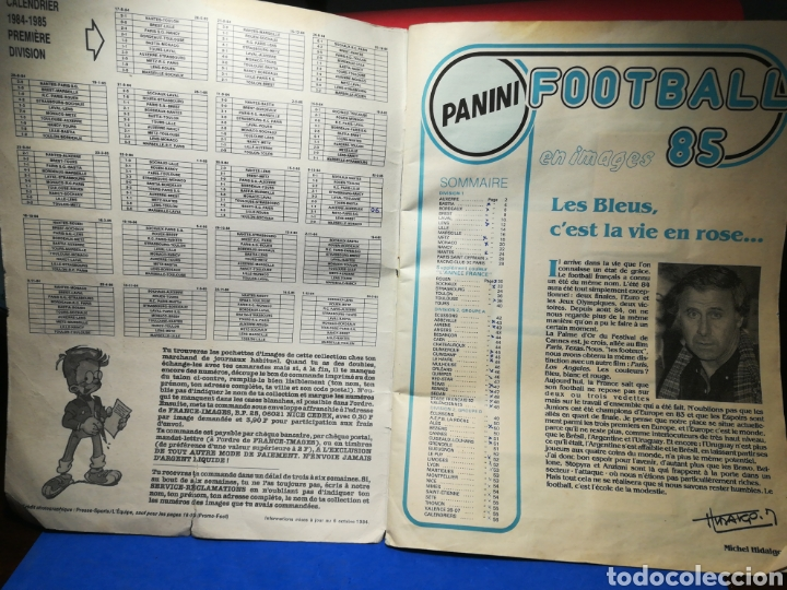 Sammelleidenschaft Sport: Álbum de cromos fútbol francés Temporada 1984-85 - 459 de 468 cromos - Panini, 1984 - Foto 3 - 126205619