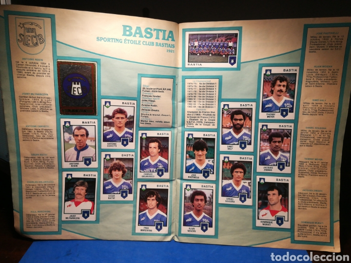Sammelleidenschaft Sport: Álbum de cromos fútbol francés Temporada 1984-85 - 459 de 468 cromos - Panini, 1984 - Foto 5 - 126205619