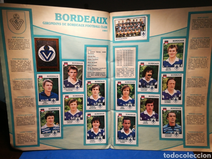 Sammelleidenschaft Sport: Álbum de cromos fútbol francés Temporada 1984-85 - 459 de 468 cromos - Panini, 1984 - Foto 6 - 126205619