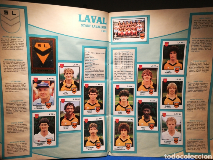 Sammelleidenschaft Sport: Álbum de cromos fútbol francés Temporada 1984-85 - 459 de 468 cromos - Panini, 1984 - Foto 8 - 126205619