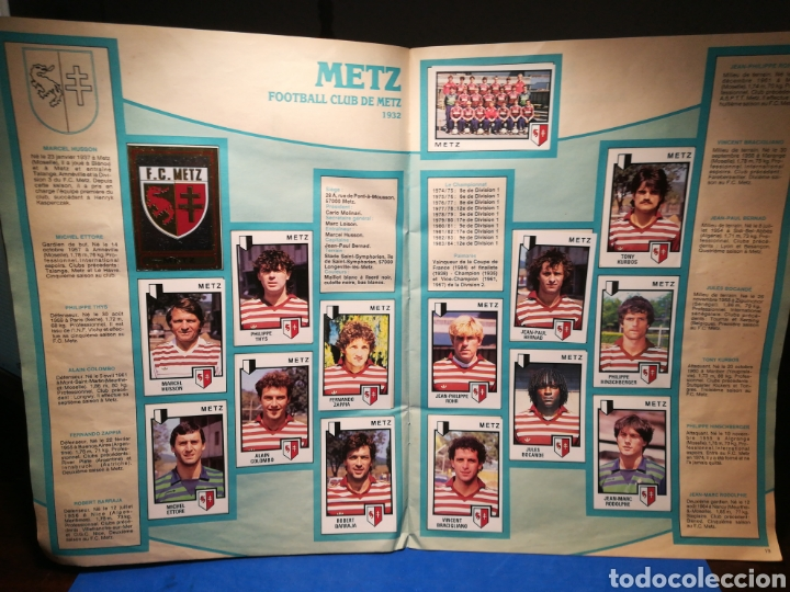Sammelleidenschaft Sport: Álbum de cromos fútbol francés Temporada 1984-85 - 459 de 468 cromos - Panini, 1984 - Foto 12 - 126205619