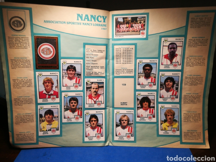 Sammelleidenschaft Sport: Álbum de cromos fútbol francés Temporada 1984-85 - 459 de 468 cromos - Panini, 1984 - Foto 14 - 126205619