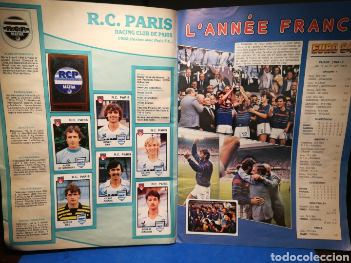 Sammelleidenschaft Sport: Álbum de cromos fútbol francés Temporada 1984-85 - 459 de 468 cromos - Panini, 1984 - Foto 17 - 126205619