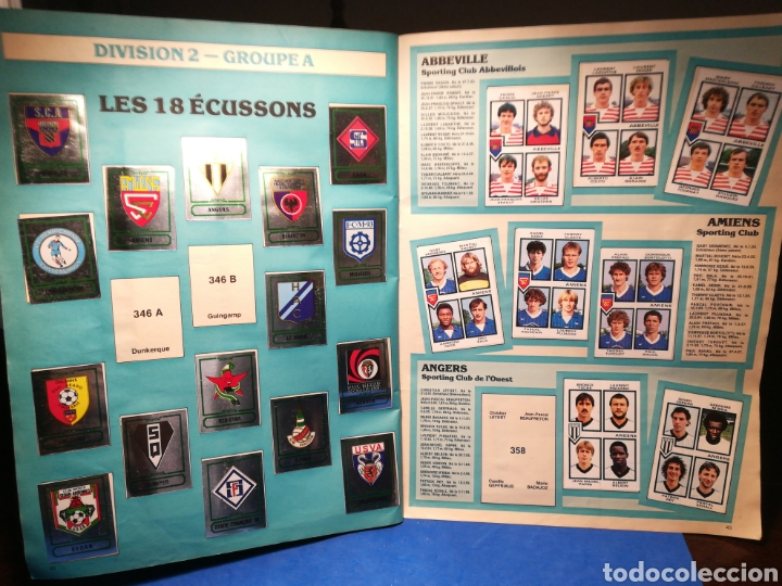 Sammelleidenschaft Sport: Álbum de cromos fútbol francés Temporada 1984-85 - 459 de 468 cromos - Panini, 1984 - Foto 34 - 126205619