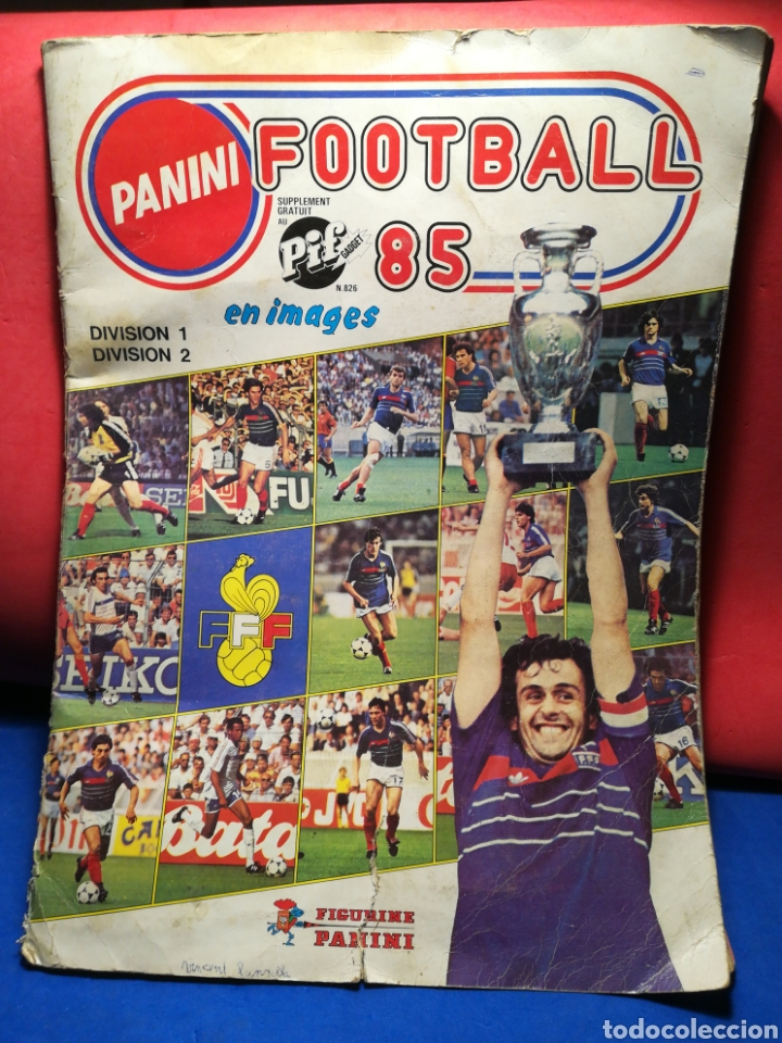 Sammelleidenschaft Sport: Álbum de cromos fútbol francés Temporada 1984-85 - 459 de 468 cromos - Panini, 1984 - Foto 35 - 126205619