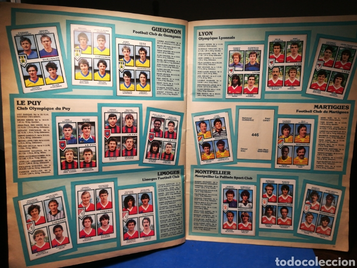 Sammelleidenschaft Sport: Álbum de cromos fútbol francés Temporada 1984-85 - 459 de 468 cromos - Panini, 1984 - Foto 47 - 126205619