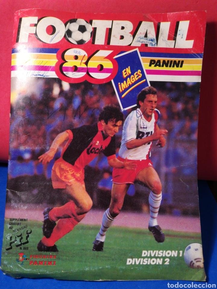 ÁLBUM DE CROMOS FÚTBOL FRANCÉS TEMPORADA 1985-86 (189 DE 474 CROMOS) PANINI, 1985 (Coleccionismo Deportivo - Álbumes y Cromos de Deportes - Álbumes de Fútbol Incompletos)