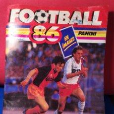 Coleccionismo deportivo: ÁLBUM DE CROMOS FÚTBOL FRANCÉS TEMPORADA 1985-86 (189 DE 474 CROMOS) PANINI, 1985. Lote 126219732