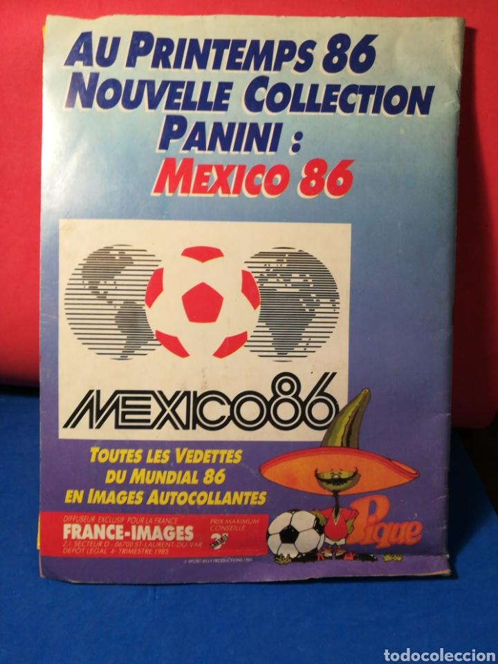 Coleccionismo deportivo: Álbum de cromos fútbol francés temporada 1985-86 (189 de 474 cromos) Panini, 1985 - Foto 2 - 126219732