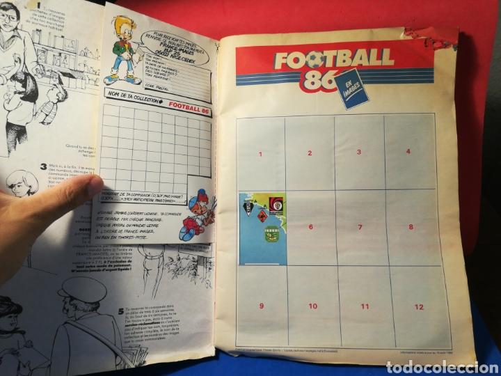 Coleccionismo deportivo: Álbum de cromos fútbol francés temporada 1985-86 (189 de 474 cromos) Panini, 1985 - Foto 4 - 126219732