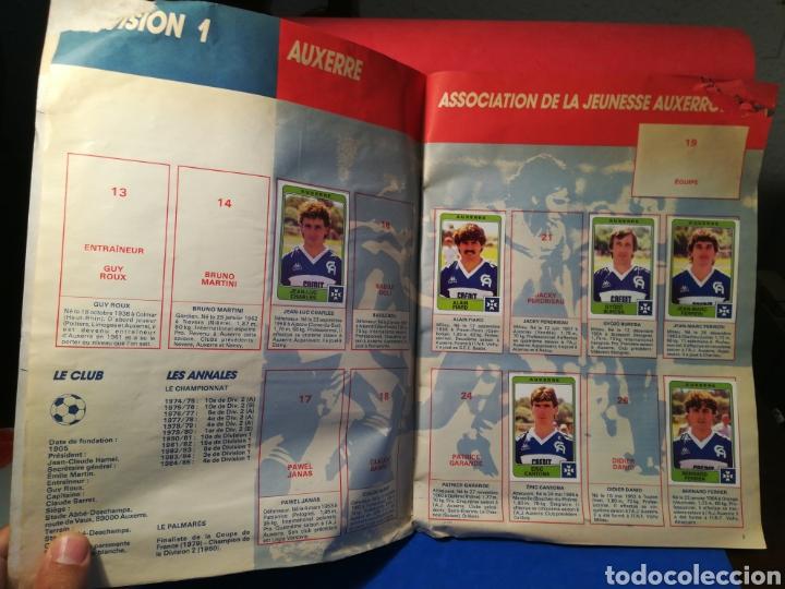 Coleccionismo deportivo: Álbum de cromos fútbol francés temporada 1985-86 (189 de 474 cromos) Panini, 1985 - Foto 5 - 126219732