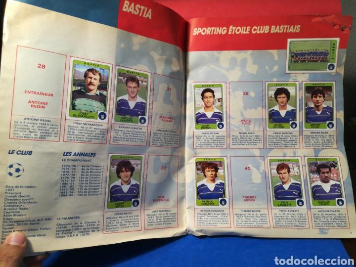 Coleccionismo deportivo: Álbum de cromos fútbol francés temporada 1985-86 (189 de 474 cromos) Panini, 1985 - Foto 6 - 126219732