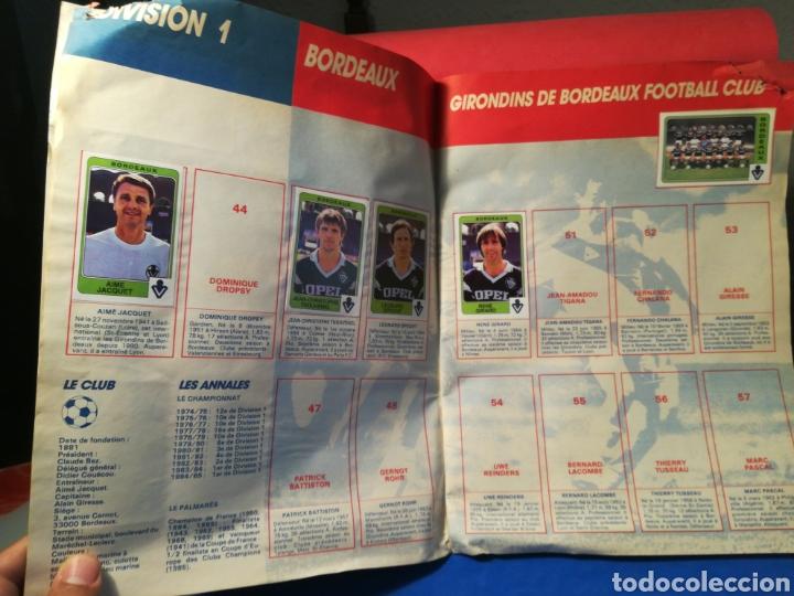 Coleccionismo deportivo: Álbum de cromos fútbol francés temporada 1985-86 (189 de 474 cromos) Panini, 1985 - Foto 7 - 126219732