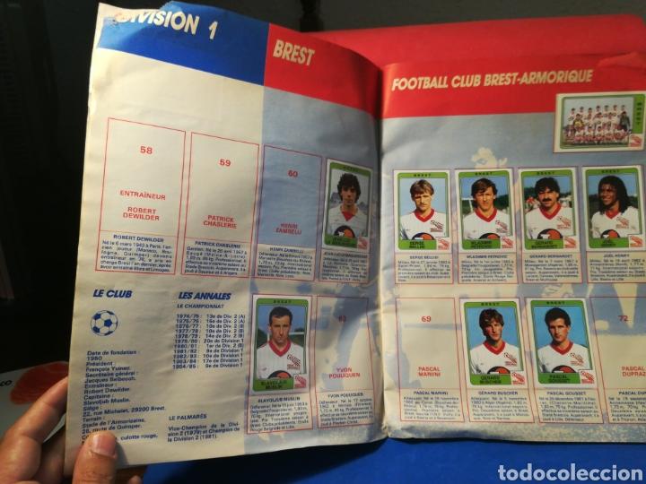 Coleccionismo deportivo: Álbum de cromos fútbol francés temporada 1985-86 (189 de 474 cromos) Panini, 1985 - Foto 8 - 126219732