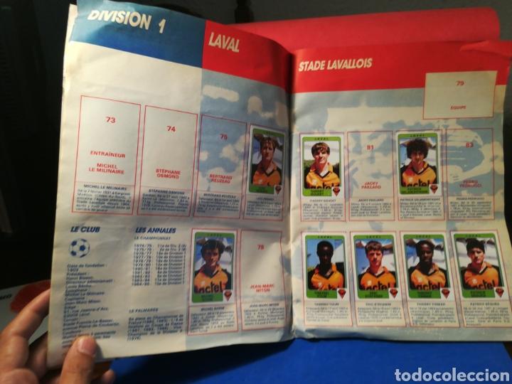 Coleccionismo deportivo: Álbum de cromos fútbol francés temporada 1985-86 (189 de 474 cromos) Panini, 1985 - Foto 9 - 126219732