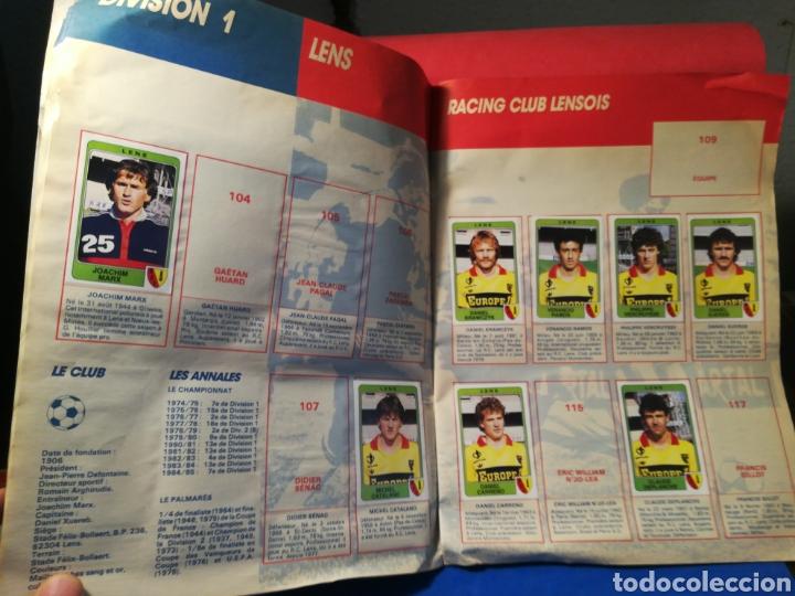 Coleccionismo deportivo: Álbum de cromos fútbol francés temporada 1985-86 (189 de 474 cromos) Panini, 1985 - Foto 11 - 126219732
