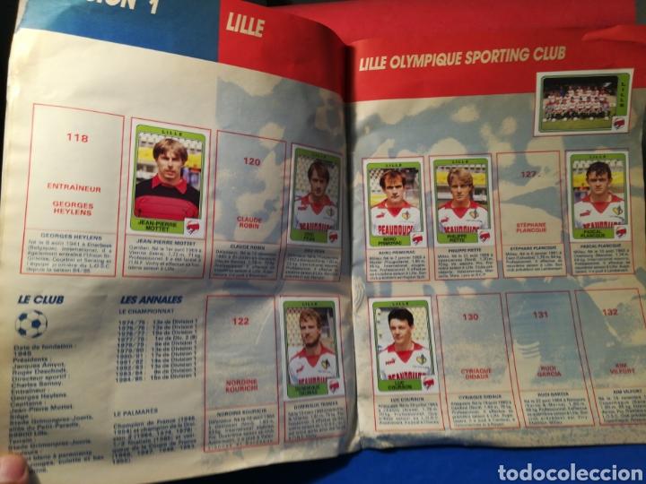 Coleccionismo deportivo: Álbum de cromos fútbol francés temporada 1985-86 (189 de 474 cromos) Panini, 1985 - Foto 12 - 126219732