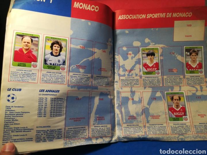 Coleccionismo deportivo: Álbum de cromos fútbol francés temporada 1985-86 (189 de 474 cromos) Panini, 1985 - Foto 15 - 126219732