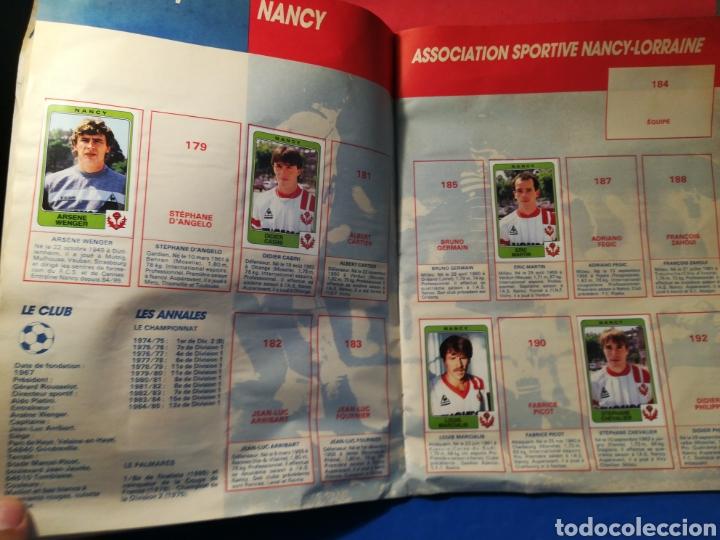Coleccionismo deportivo: Álbum de cromos fútbol francés temporada 1985-86 (189 de 474 cromos) Panini, 1985 - Foto 16 - 126219732