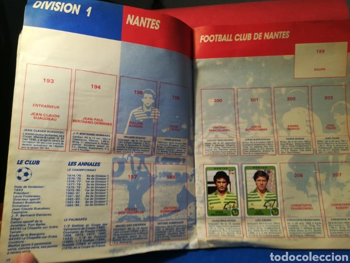 Coleccionismo deportivo: Álbum de cromos fútbol francés temporada 1985-86 (189 de 474 cromos) Panini, 1985 - Foto 17 - 126219732