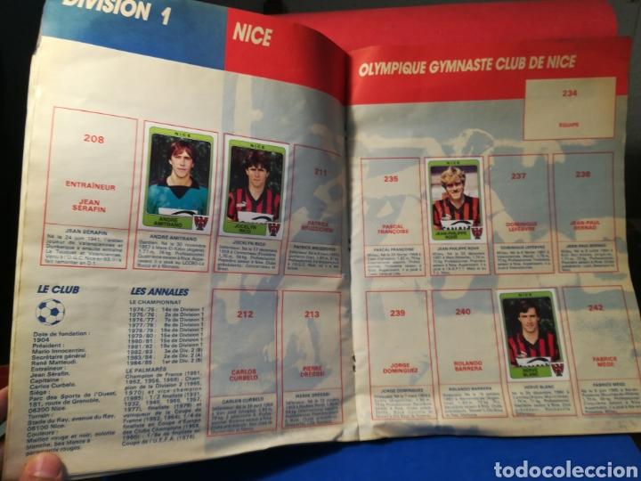 Coleccionismo deportivo: Álbum de cromos fútbol francés temporada 1985-86 (189 de 474 cromos) Panini, 1985 - Foto 18 - 126219732