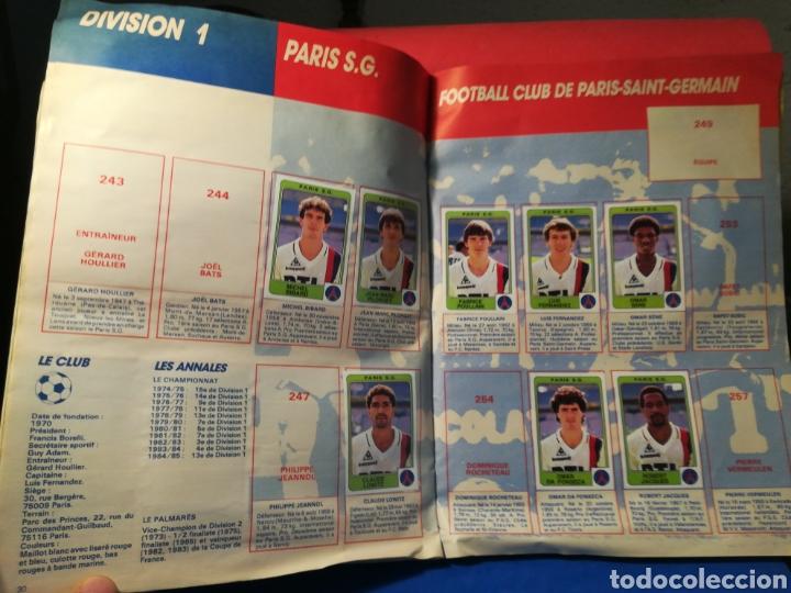 Coleccionismo deportivo: Álbum de cromos fútbol francés temporada 1985-86 (189 de 474 cromos) Panini, 1985 - Foto 19 - 126219732