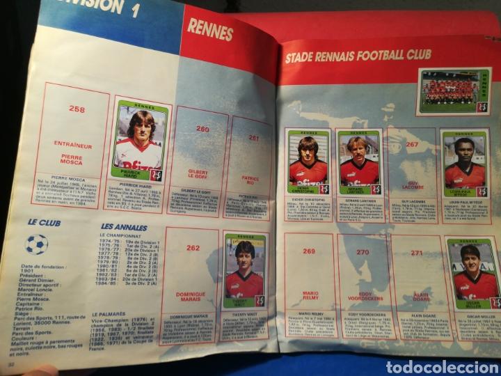 Coleccionismo deportivo: Álbum de cromos fútbol francés temporada 1985-86 (189 de 474 cromos) Panini, 1985 - Foto 20 - 126219732