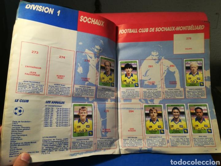Coleccionismo deportivo: Álbum de cromos fútbol francés temporada 1985-86 (189 de 474 cromos) Panini, 1985 - Foto 21 - 126219732
