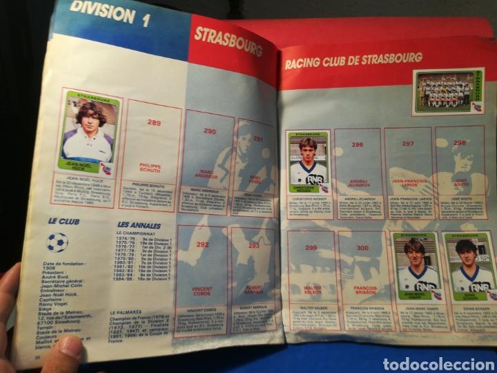 Coleccionismo deportivo: Álbum de cromos fútbol francés temporada 1985-86 (189 de 474 cromos) Panini, 1985 - Foto 22 - 126219732