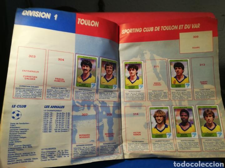 Coleccionismo deportivo: Álbum de cromos fútbol francés temporada 1985-86 (189 de 474 cromos) Panini, 1985 - Foto 23 - 126219732