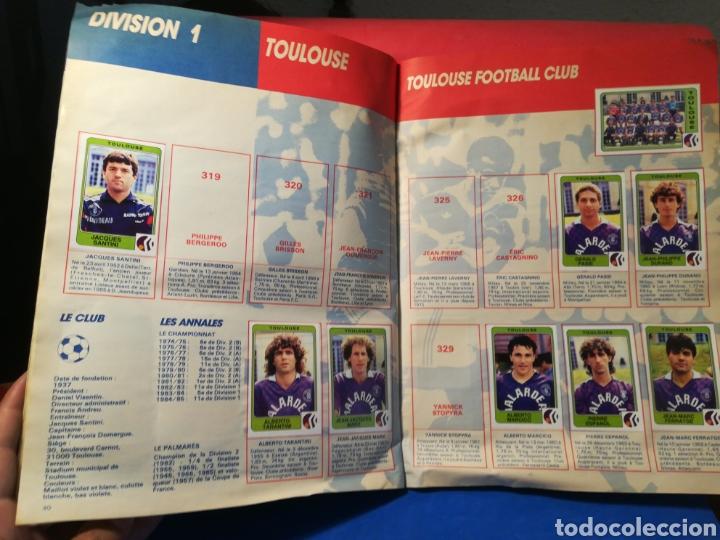 Coleccionismo deportivo: Álbum de cromos fútbol francés temporada 1985-86 (189 de 474 cromos) Panini, 1985 - Foto 24 - 126219732
