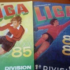 Coleccionismo deportivo: ALBUMS VACIOS CROMOS CANO 84 85 1984 1985. Lote 126355687