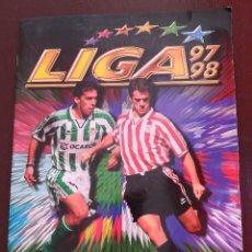 Coleccionismo deportivo: ÁLBUM DE CROMOS FÚTBOL ESTE LIGA 97 98 1997-1998 CON 470 CROMOS - FOTOS DE TODAS LA HOJAS. Lote 126469751