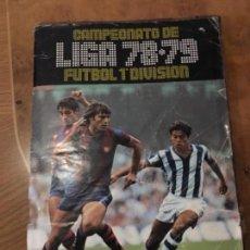 Coleccionismo deportivo: ALBUM ESTE 78 79. Lote 126505687