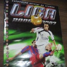 Coleccionismo deportivo: ALBUM INCOMPLETO. LIGA 2006- 2007. FALTAN 6 CROMOS Y 7 ULTIMOS FICHAJES. COLECCIONES ESTE. . Lote 126531223
